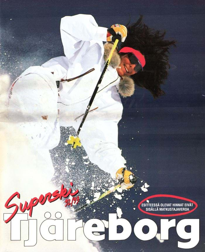 Tjäreborgin Superski-esite 1992